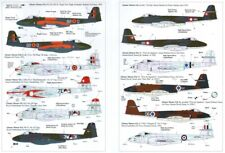 NEW 1:72 Xtradecal X72071 Gloster Meteor F.8 Foreign Operators