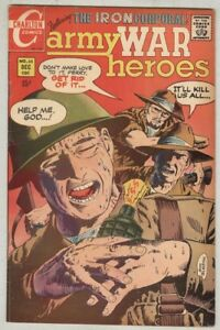 Army War Heroes #35 December 1969 VG/FN Classic Cover