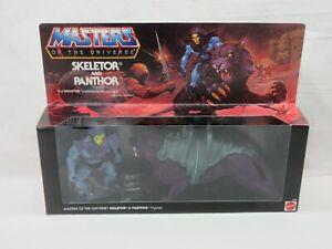 MOTU,Commemorative SKELETOR & PANTHOR,MISB,MOC,sealed,Masters of the Universe