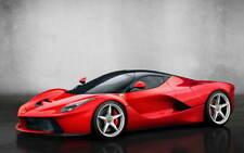 Ferrari La Ferrari grand promo poster