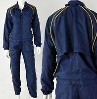 90s Vintage Womens S or 4-6 Nike Navy Blue Track Suit Windbreaker Suit