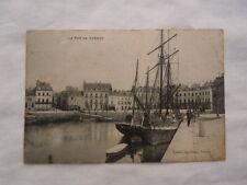 Ancienne carte postale du Port de Vannes