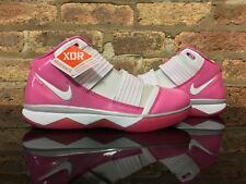 Nike Lebron Zoom Soldier 3 Breast Cancer Women's Size 12 Mens Size 10.5 Gloria