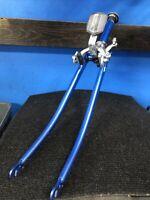 """Vtg Schwinn 27"""" 1 1/4"""" Fork Blue W/ Headset +  Brake Replacement 1"""" X 7"""" Steerer"""