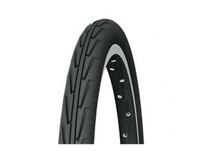 Cubierta Michelin CITY.J 500A confort 37 - 440 - neumanico negro / blanco