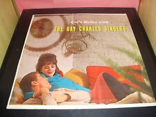 "Let's Relax With The Ray Charles Singers 12"" Vinyl Record Album VG+ SF-25500"