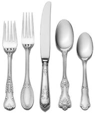 Wallace Hotel Set 77 Flatware Piece Service 12 Stainless Steel New Pc 18 10 Gift