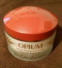 "Perfumed body creme vintage OPIUM YSL "" SANOFI ERA "" 200 ml"