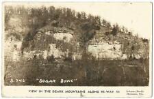 "Missouri Ozark Mountains ""Sugar Bowl"" U.S. Highway Route 66 RPPC Real Photo 1941"