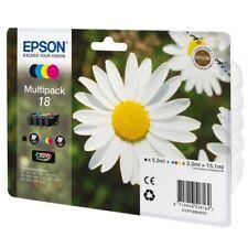 Epson Original T1806 18 Multipack Negro, Cyan, Magenta Amarillo (C13T18064012)