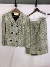 Lord & Taylor Designed by Boykoff Bouclé Women's Vintage 1950's Skirt Suit