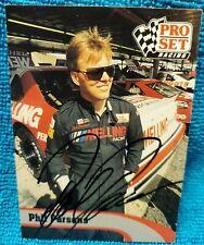 Phil Parsons NASCAR hand signed autograph 1992 ProSet racing card #74