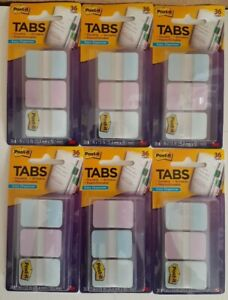 """Post-it Tabs 1"""" x1.5"""" (686-GRDNT) 36 ct x 6 Packages 216 Tabs Total"""