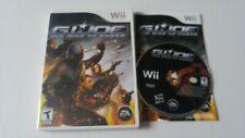 G.I. Joe: The Rise of Cobra Nintendo Wii 2009 complete