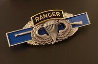 RANGER BASIC JUMP WINGS US Army Combat Infantry Badge CIB Airborne Pin