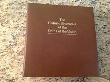 Vintage Franklin Mint The Historic Silverseals of the States of the Union MINT !
