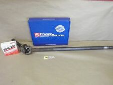 AXLE SHAFT WITH NEW U JOINT 28 SPLINE LONG SIDE LEFT HAND FRONT GM 10 BOLT 8.5
