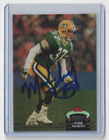1992 PACKERS Mark Murphy signed card Topps Stadium Cl #10 Autographed Green Bay