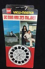 De Man van zes Miljoen   ,View-Master 1  reel  BB 5594  NEW blister pac