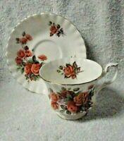 Royal Albert Centennial Rose   Cup and Saucer