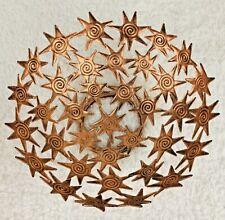 "Tobin James Star Bowl Antiqued Copper Stars Home Decor 10"""