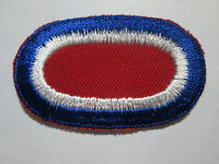 US Army 187th Airborne Infantry Regiment para oval c/e Early Mfg