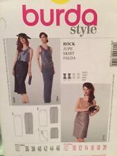 Burda Sewing Pattern 7150 Ladies Misses Skirt Size 10-20 Uncut
