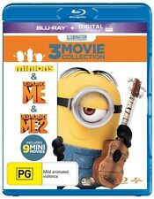 Despicable Me / Despicable Me 2 / Minions : NEW Blu-Ray