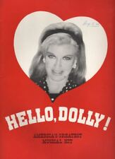 "Ginger Roger   ""Hello, Dolly!""   Souvenir Program  BROADWAY  1966   Ticket Stub"