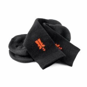 Scruffs T53545 7 - 9.5 / 41 - 43 Worker Socks Black 3pk