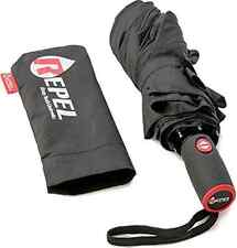"Repel Travel Umbrella- ""Dupont Teflon"" Certified, Blizzard-Proof, Fiberglass Rei"