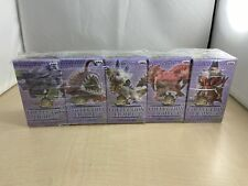 Monster Hunter Collection Figure 3 All 5 types