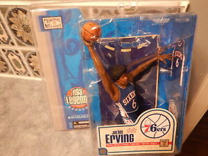 NBA Legends 1 Basketball McFarlane Action Figure: JULIUS ERVING: Philadelphia