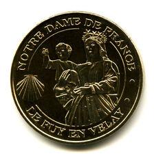 43 LE PUY-EN-VELAY Vierge ND et coquille Saint-Jacques, 2018, Monnaie de Paris