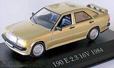Mercedes Benz 190 e 2,3 16v-w201 - 1982-88 champán metalizado 1:43 Ixo