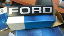 NOS 1981 1982 FORD ESCORT FRONT GRILL GRILLE EMBLEM NAMEPLATE E1FZ-8A223-A NEW