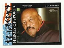 TOPPS HERITAGE 2009 TC HS #21 {Heroes of Sport} Jim Brown NEW