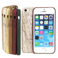 Apple iPhone Series TPU Case Wood Effect Protective Case Cover Flexible Bumper