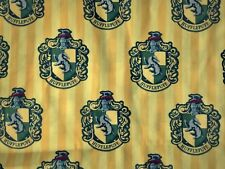 FQ HARRY POTTER HOGWARTS HOUSE HUFFLEPUFF  POLYCOTTON FABRIC CHARACTER WIZARD