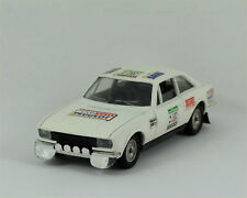 Solido Peugeot 504 V6 Coupe winner Morocco rally 1976 #1055 Nicolas/Gamet Boxed