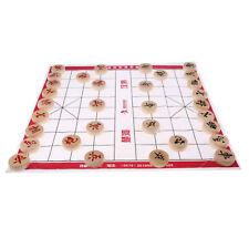 Piezas de ajedrez chino Set XiangQi Board Game Chessboard Entertainment Toys