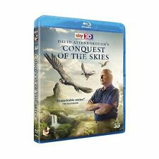 DAVID ATTENBOROUGH'S CONQUEST OF THE SKIES BLU-RAY 3D DISC