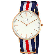 Daniel Wellington White Dial Mens Watch DW00100002