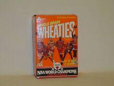 WHEATIES 1991 NBA WORLD CHAMPIONS CHICAGO BULLS MINI CEREAL BOX UNOPENED