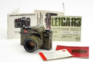 Leitz Leica R3 Electronic Safari w. 2/50mm Summicron-R