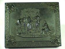 Quarter Plate - Gutta Percha Case - Capture Rev. War British Spy Maj. John Andre
