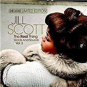 Jill Scott - The Real Thing Words and Sound Vol. 3 Deluxe Edition CD + DVD