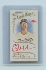 2014 TOPPS ALLEN & GINTER RED AUTOGRAPH CLAYTON KERSHAW  LA DODGERS #01/10