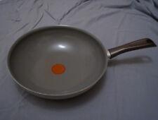 Wok Tefal Ceramic Control 28 cm Neuwertig Termospot Grau