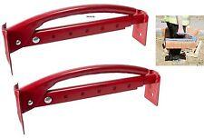 Pro x2 Adjustable Brick Tongs Pair Lifting Carrier Lifter Carrying 6-10 bricks